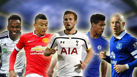 5 cầu thủ trẻ người Anh xuất sắc nhất