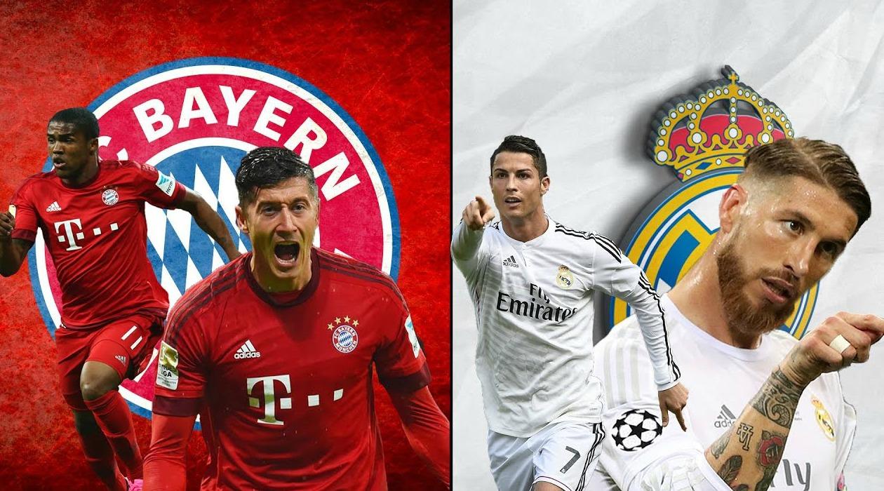 bán kết Cúp C1 trận Bayern Munich vs Real Madrid
