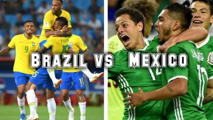 Tỷ lệ cá cược trận Brazil vs Mexico