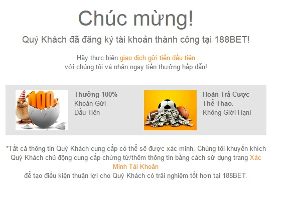 Hướng dẫn đăng ký 188Bet tại TPHCM Việt Nam