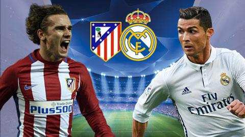 Kèo nhà cái 188Bet trận Atletico Madrid vs Real Madrid