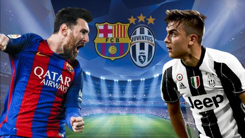 Kèo nhà cái 188Bet trận Barca vs Juventus Cúp C1:tạm biệt!