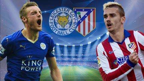 Kèo nhà cái 188Bet trận Leicester vs Atletico Madrid Cúp C1: Cáo non sập bẫy !