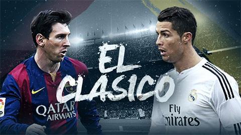 Kèo nhà cái 188Bet trận siêu kinh điển Real vs Barca