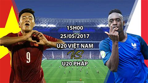 Kèo nhà cái 188Bet trận U20 Việt Nam vs U20 Pháp