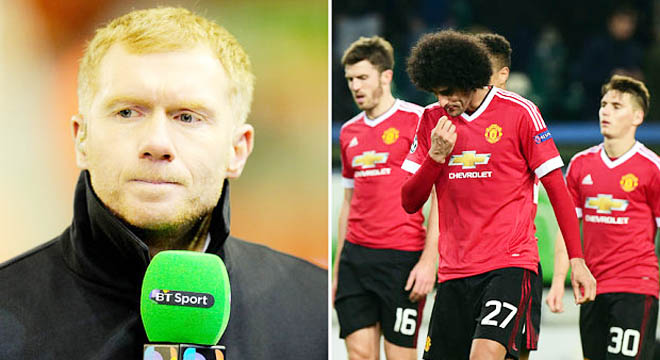 Scholes: 'Man United là đội bóng trung bình. Đội trung bình đá ở Europa League là đúng rồi'