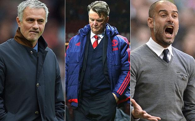 M.U đang chơi chiêu với Van Gaal, Pep Guardiola & Mourinho