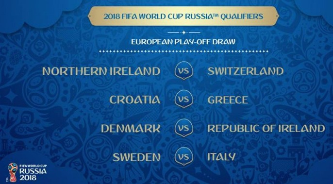 Play-Off World Cup 2018