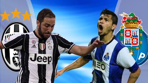 Hướng dẫn đăng ký 188Bet chơi trận Juventus vs Porto Cúp C1