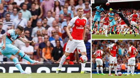 Arsenal thảm bại ngay tại Emirates