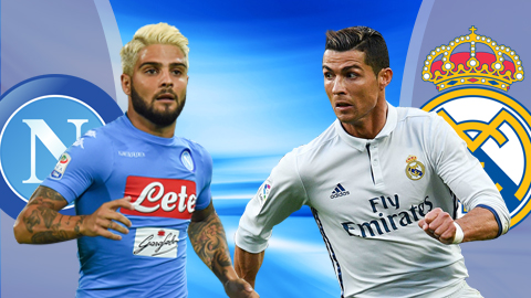 Kèo 188Bet trận Napoli vs Real Madrid