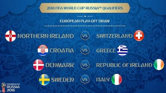Nhận định, soi kèo & dự đoán tỷ số trận Bắc Ailen vs Thụy Sĩ Play-Off World Cup 2018