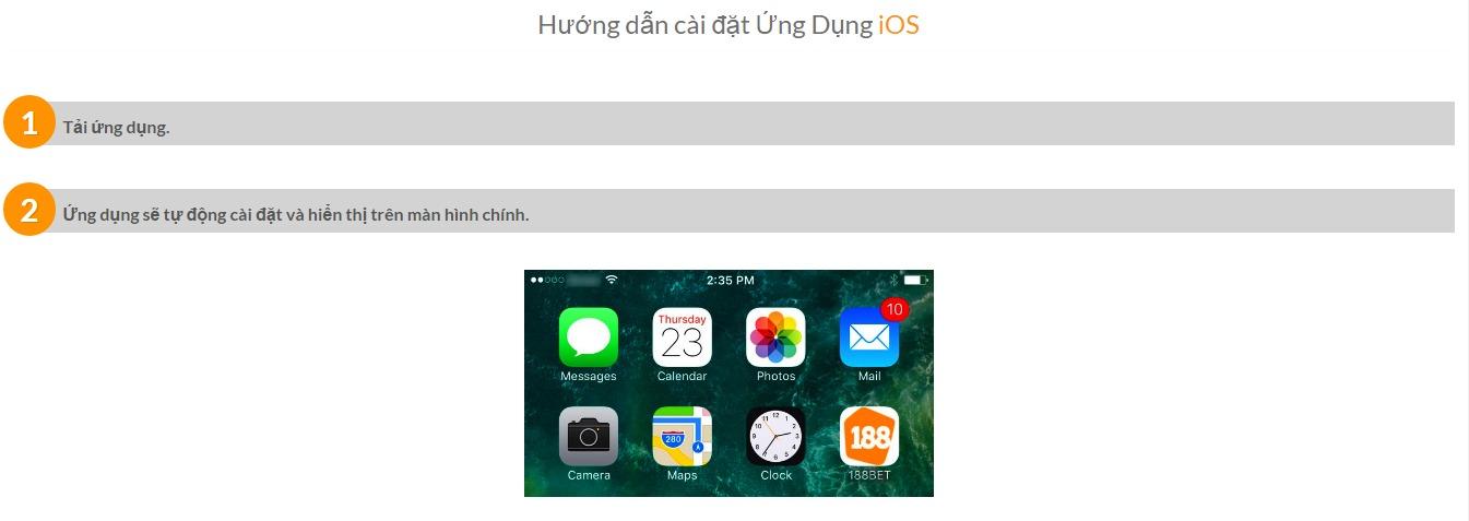 Tải ứng dụng 188Bet dành cho điện thoại iOS & Android